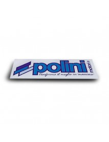 Sticker Original POLINI Italy Medium Size