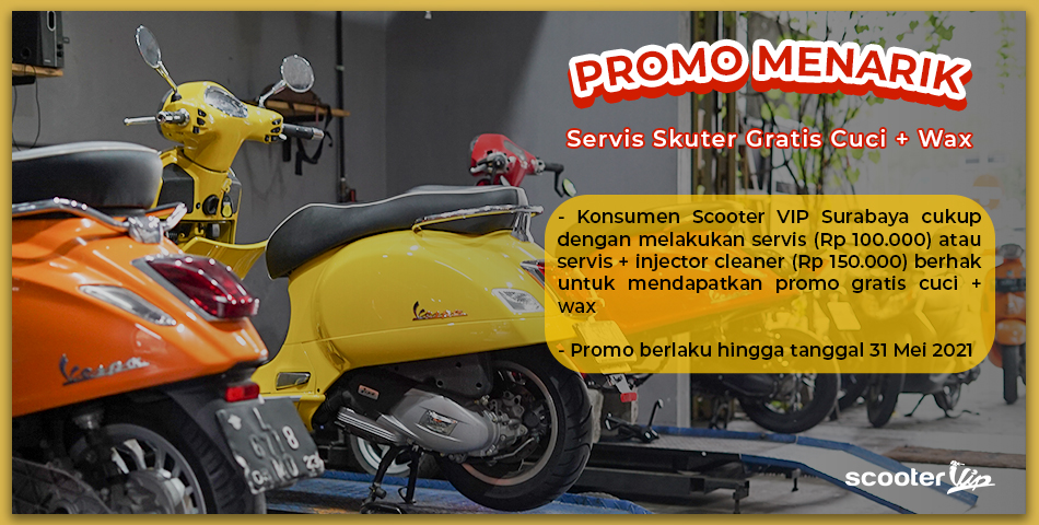Promo Menarik Scooter VIP Surabaya